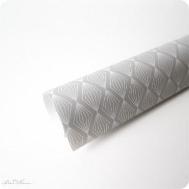 Geschenkpapier Lampions, grau