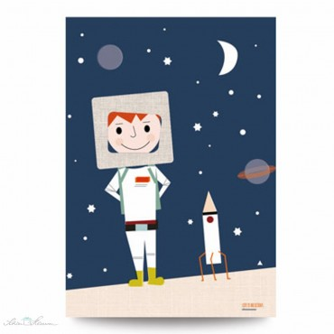 Der Astronaut, Poster A3