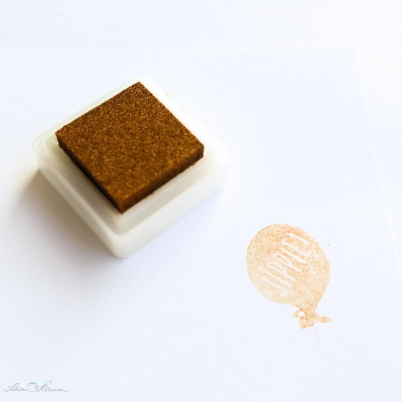 Stempelkissen klein, Versa Color, kupfer