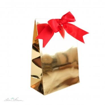 Geschenkbox Metallic Gold