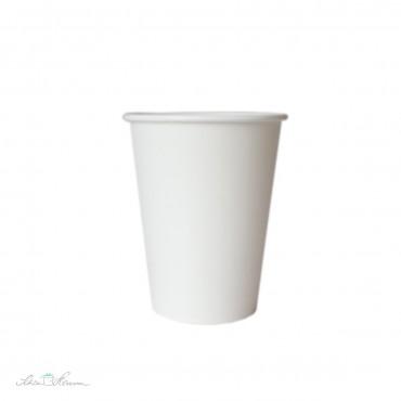 Papierbecher, weiß, 6 Stück