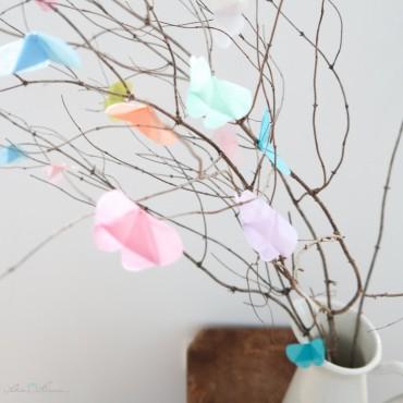 "20 Schmetterlinge ""Frühling"" im Set zum selber basteln"