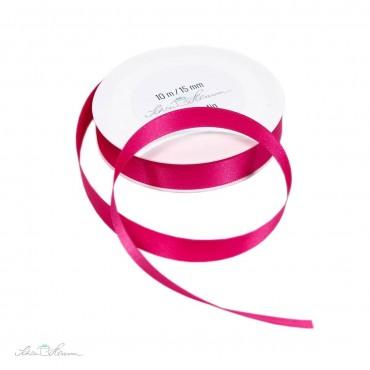 Geschenkband Satin, pink, 1.5 cm breit