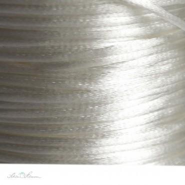 Satinkordel / 2 mm / weiß / 5 m