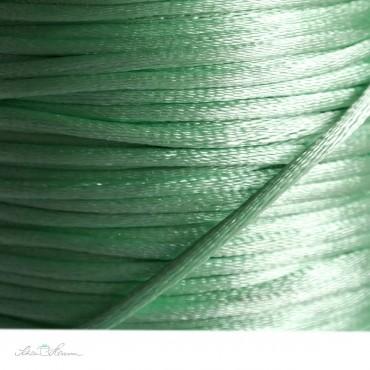 Satinkordel / 2 mm / mintgrün / 5 m