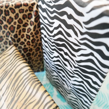 Seidenpapier, Zebra
