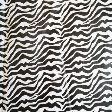 Seidenpapier, Zebra, 5 Bogen, 50 x 70 cm, farbecht