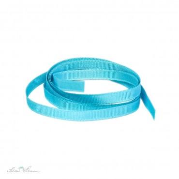 Ripsband, türkis, 6 mm breit, 2 m