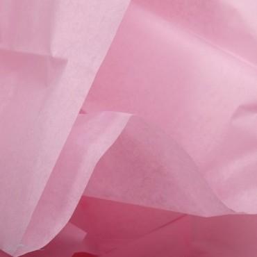 Seidenpapier, rosa, farbecht