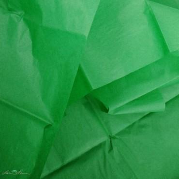 Seidenpapier, grün, farbecht