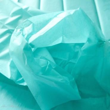 Seidenpapier, karibikblau, farbecht
