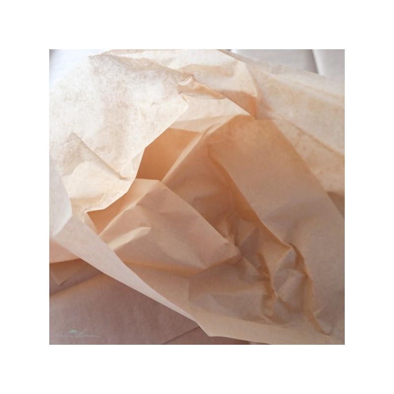 Seidenpapier, hellbraun, farbecht