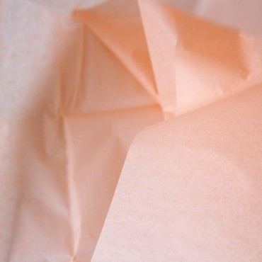 Seidenpapier, pfirsich, farbecht