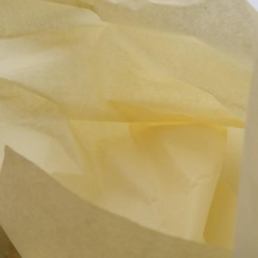 Seidenpapier, honig, hellgelb, farbecht