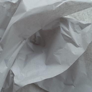 Seidenpapier, grau, farbecht