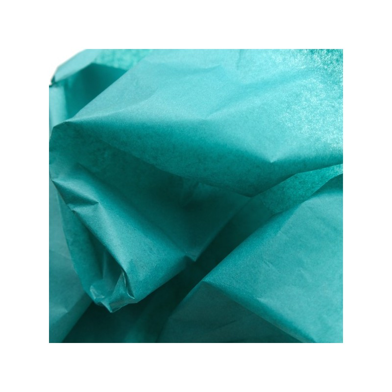 Seidenpapier, smaragdgrün, grünblau, farbecht
