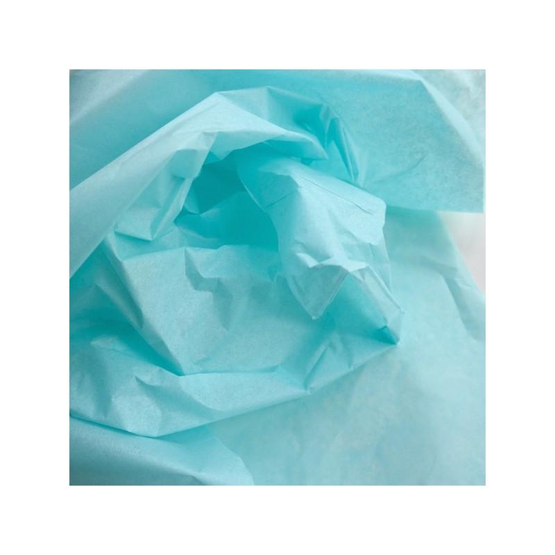Seidenpapier, aquamarin, farbecht