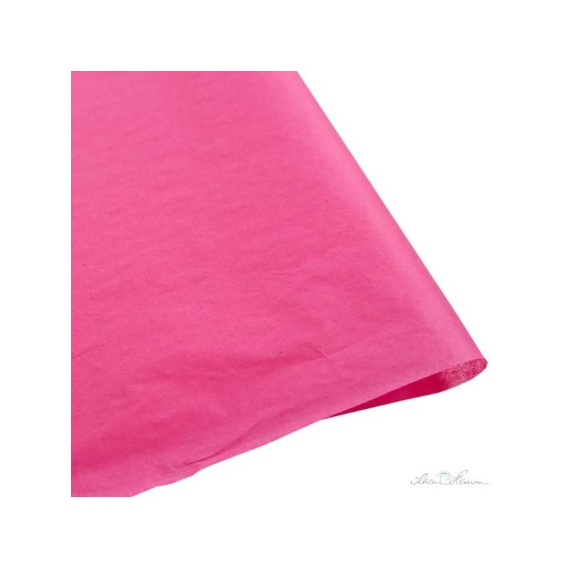 Seidenpapier, flamingo, pink, farbecht
