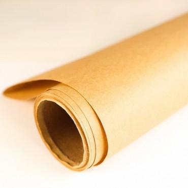 Geschenkpapier, Kraftpapier, naturbraun, 5m Rolle