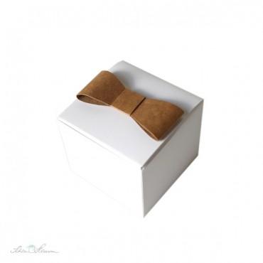 Papierschleife, 12 x, braun
