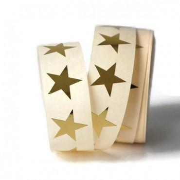 Aufkleber kleine Sterne / gold / 20 Stück