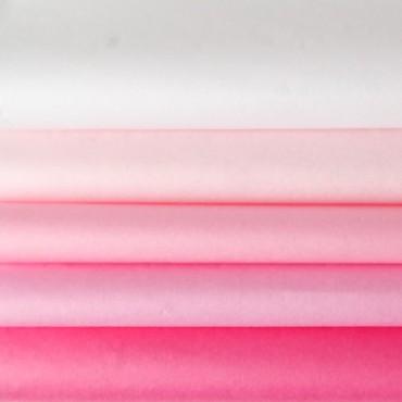 Seidenpapier Set, rosa