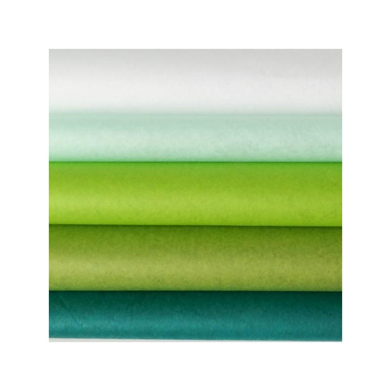 Seidenpapier Set, grün