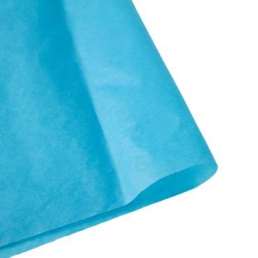 Seidenpapier, türkis blau, farbecht