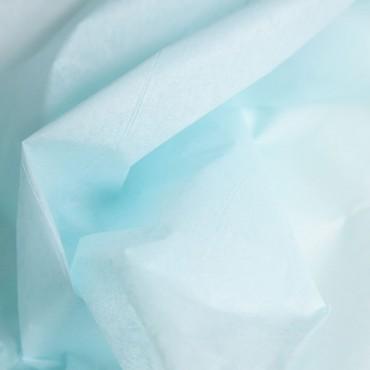 Seidenpapier, hellblau, farbecht