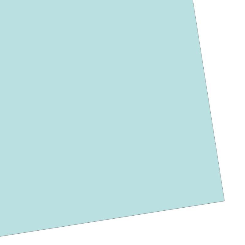 Geschenkpapier einfarbig, mintgrün, frisch und zart, 50 x 70 cm
