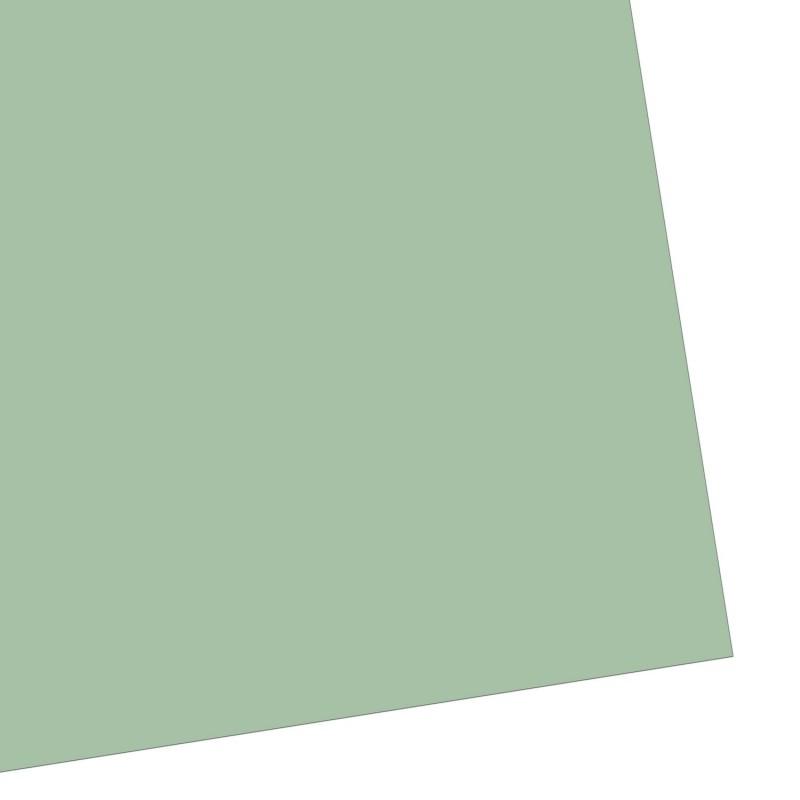 Geschenkpapier, einfarbig, salbeigrün, warm & samtig, 50 x 70 cm
