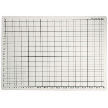 Schneidmatte mit Hilfslinien, 30 x 45 cm, 3 mm dick