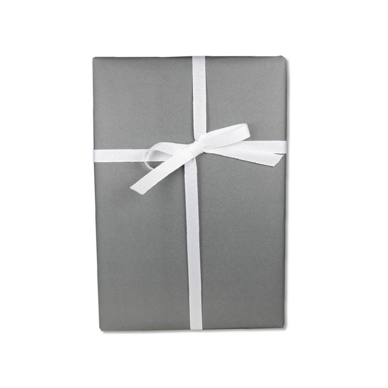 Geschenkpapier, einfarbig, anthrazit, stark & edel, 50 x 70 cm