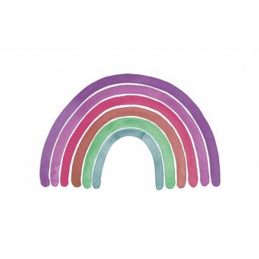 Regenbogen, lila-pink-grün