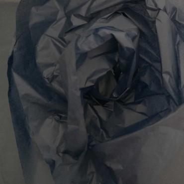 Seidenpapier, blauschwarz, mitternachtsblau, farbecht
