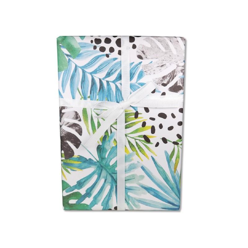 Geschenkpapier, Palme & Monstera , 50 x 70 cm