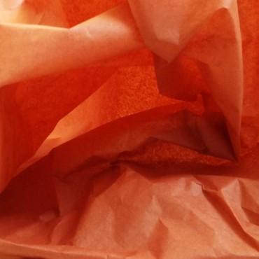 Seidenpapier, rost, orange