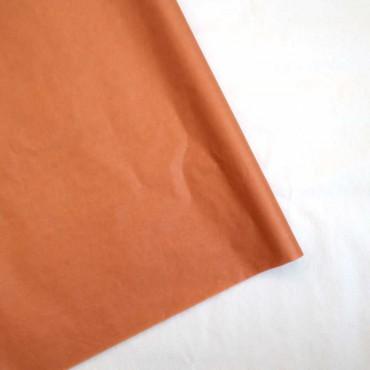 Seidenpapier, rost, orange, 5 Bögen, 50x70 cm