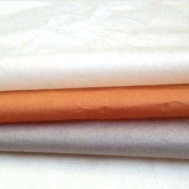 Seidenpapier, helles khaki, farbecht, 5 Bögen, 50 x 70 cm