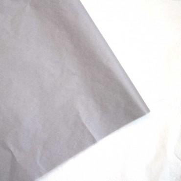 Seidenpapier, taupe, farbecht, 5 Bögen