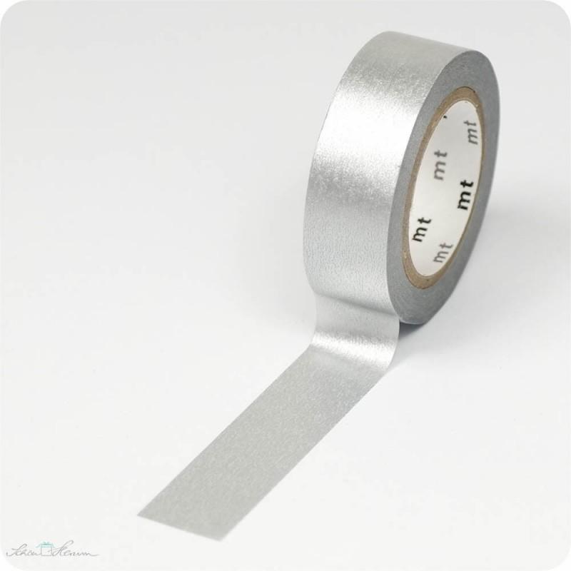 Masking Tape silber