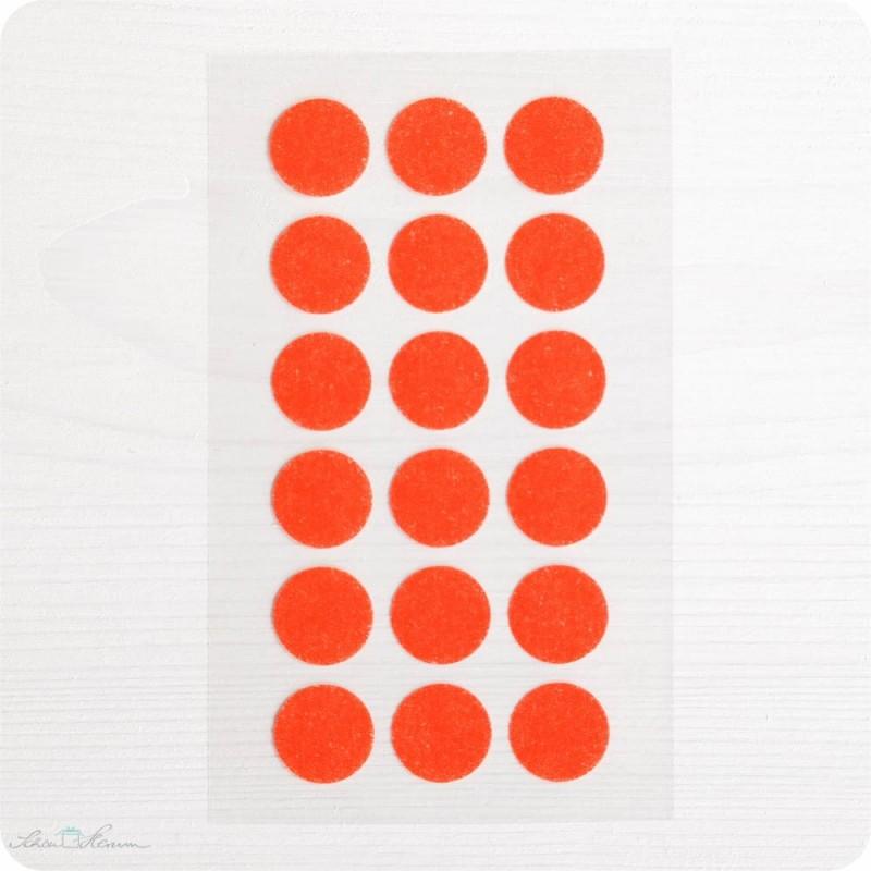 Washi-Dots, orange