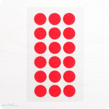 Washi-Dots, rot