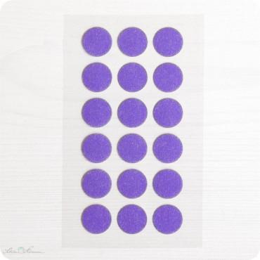 Washi-Dots, lila, 180 Stück