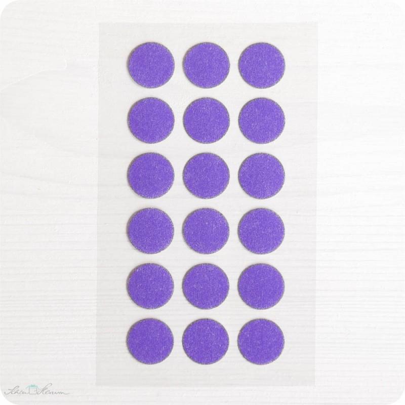 Washi-Dots, lila
