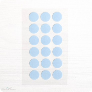 Washi-Dots, hellblau