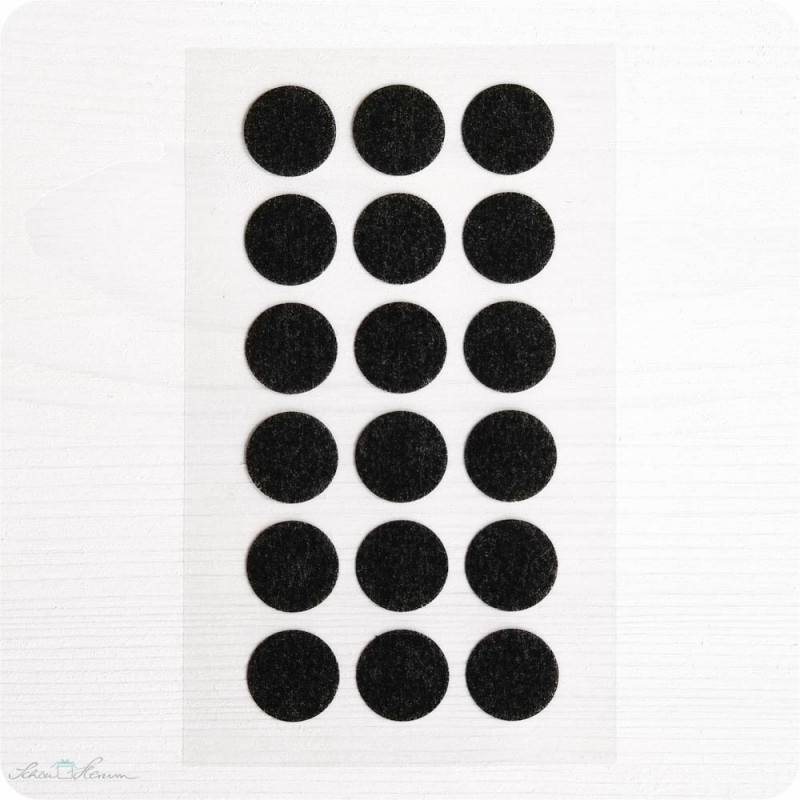 Washi-Dots, schwarz