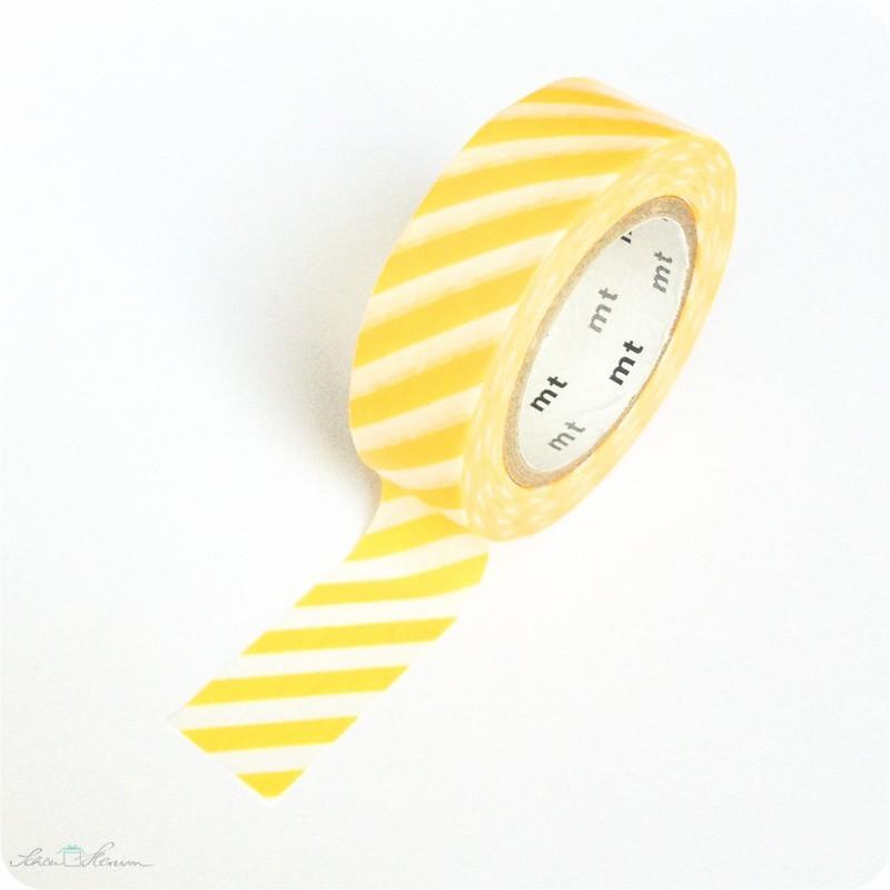 Masking Tape Streifen gelb