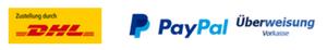 Zustellung und Zahlungsmöglichkeiten