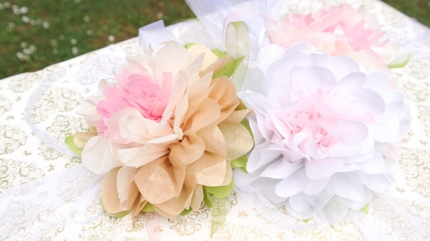 Hochzeitsgeschenk mit Seerosen